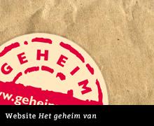 Design website Het geheim van
