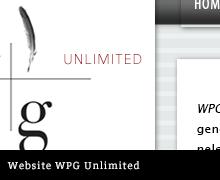 Design website WPG Unlimited