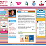 Redesign website Querido Kind - Auteurspagina