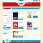 Design website Kinderboekkorting - Boekenoverzicht