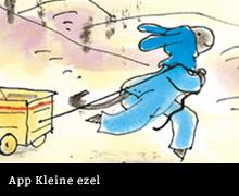 App Kleine Ezel van Rindert Kromhout en Annemarie van Haeringen