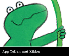 App Tellen met Kikker van Max Velthuijs