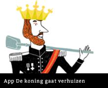 App De koning gaat verhuizen van Annie M.G. Schmidt en Wendy Panders