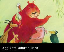 App Rara waar is Mara van Alice Hoogstad en Anton Wegman