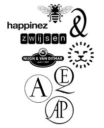 Logo's uitgeverijen